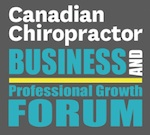 Canadian Chiropractor Business Forum