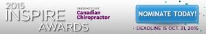 Chiropractor Inspired Awards